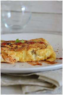 tortilla francesa rellena- tortilla francesa- la tortilla francesa- Tortilla Ranchera: Receta de Crepes salados- Crepes de pollo- Receta de Crepes salados- Crepes salados