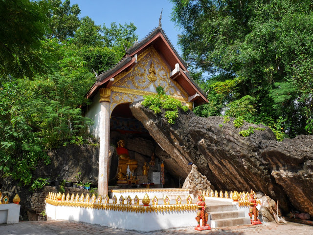 cave shrine at Mount Phousi
