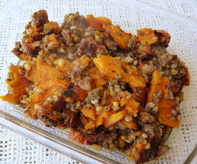 Lamb and Squash Barley Hash