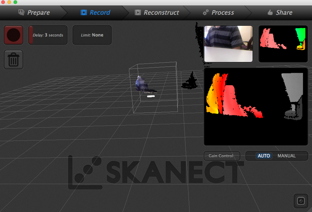 3D scan and print yourself
