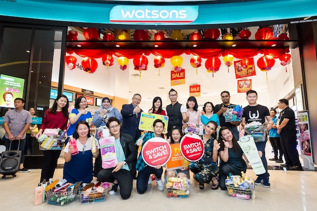 Switch, Save, Win Contest With Watsons Brand Malaysia