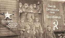 Mulţi etnici germani au fost transferaţi în Germania de Est, de către URSS