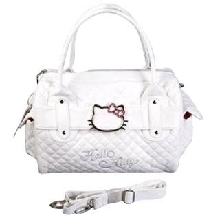 White Hello Kitty Handbag Purse Just  16.90 Shipped (Reg  85.20 ... 363947353dd83