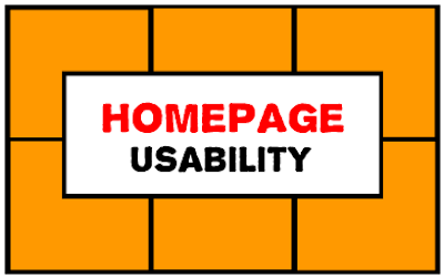 usability homepage blog siti web