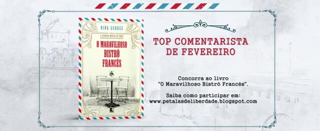 livro, O-Maravilhoso-Bistrô-Francês, Nina-George, sorteio, top-comentarista