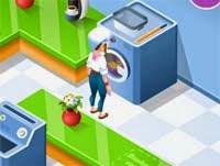 Permainan Pelayan Laundry Day Pakaian 5bddb15ce1