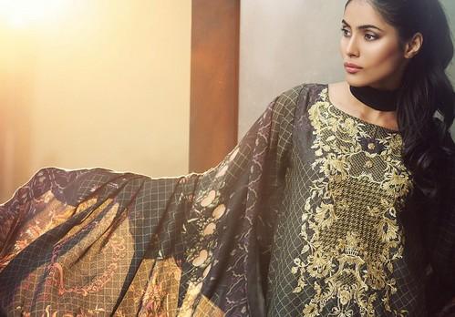 53320bc922 RajBari Winter Premium Silk Karandi 2016/2017 Collection | She-Styles |  Pakistani Designer Dresses - Fashion Weeks - Lawn Collection