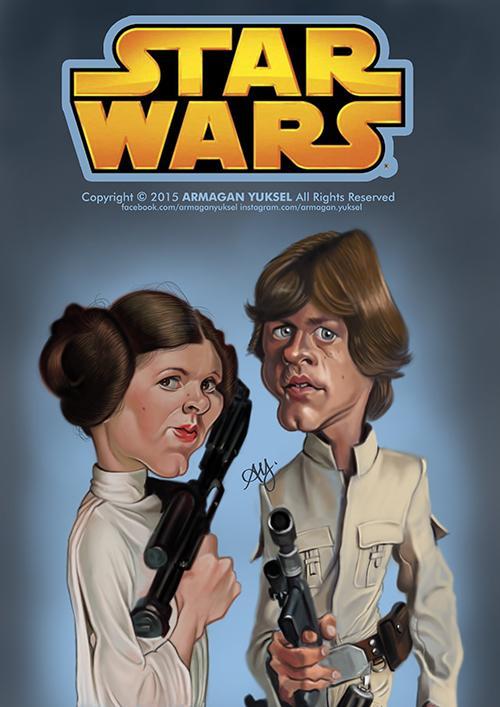 Star Wars por Armagan Yuksel