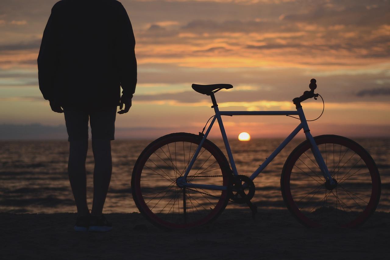 自転車通勤を始めた