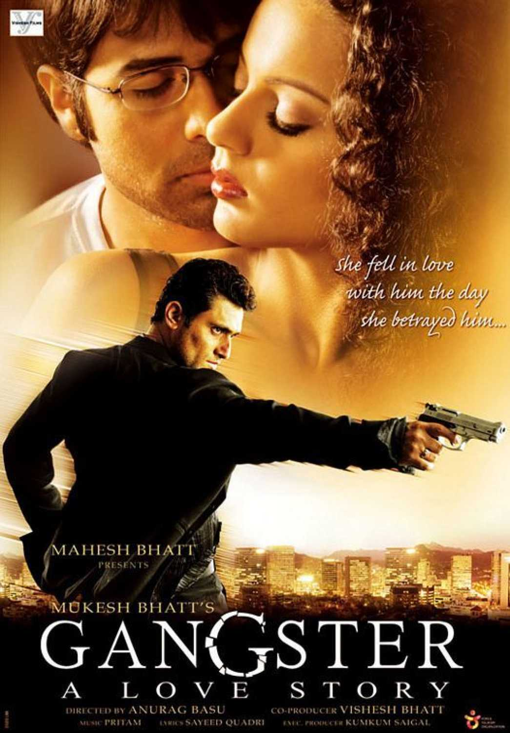 Gangster 2006 Hindi Full Movie 720p BluRay 1.1GB ESubs