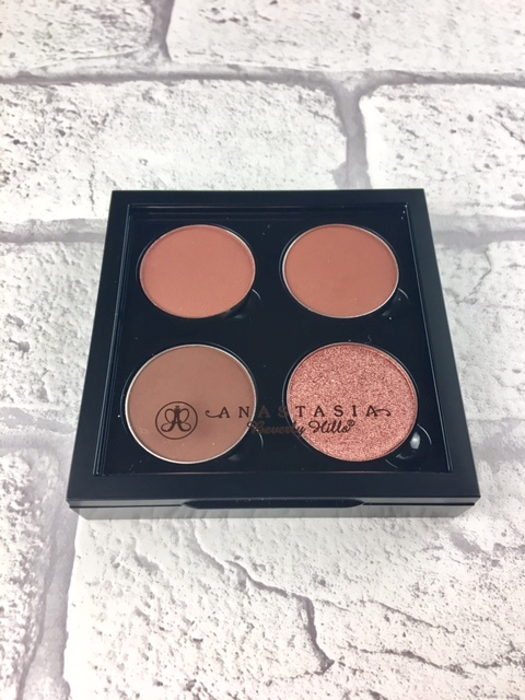 Fudge, Sienna, Henna anastasia beverly hills eyeshadows