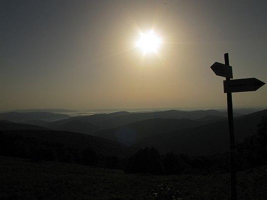 Wschodnia panorama.
