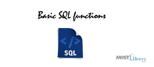 SQL basic functions