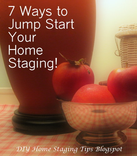 DIY Home Staging Tips: How To Jump Start Your Homestaging