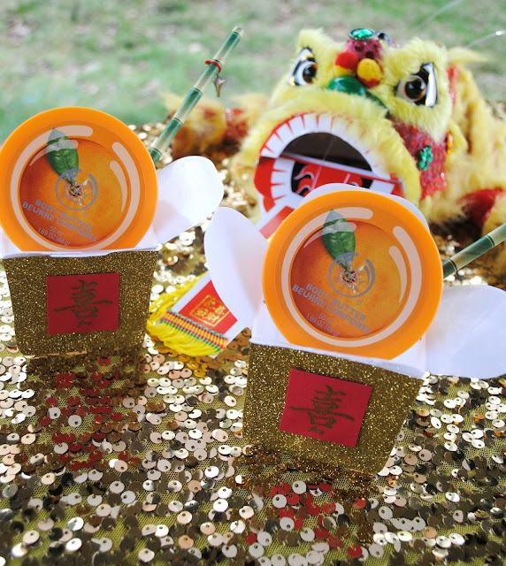 Easy DIY Chinese New Year Party Favors as seen on Fizzy Party