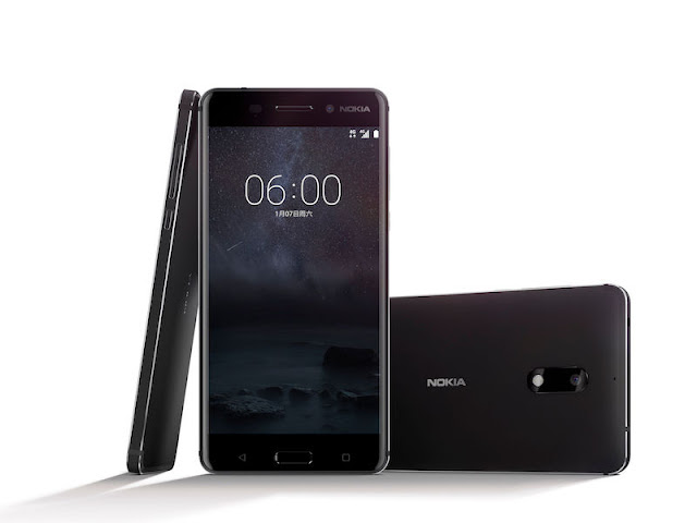 Nokia 6 android based smartphone