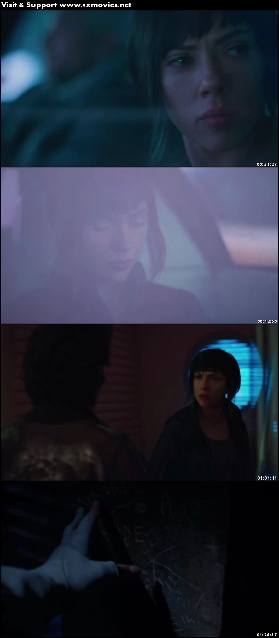 Ghost In The Shell 2017 English 480p HC HDRip
