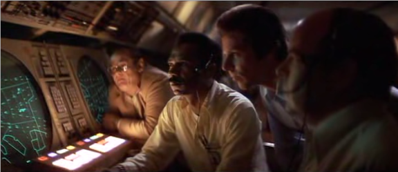 Image result for close encounters of the third kind radar room scene