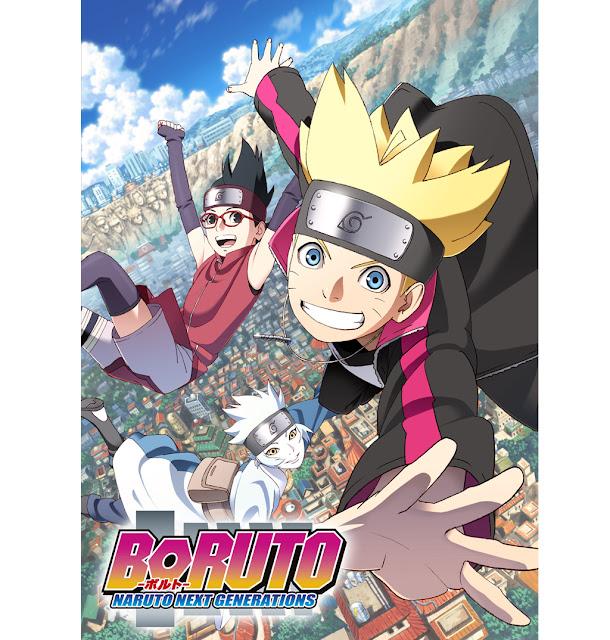 Baruto : Naruto Next Generations Anime [2017]