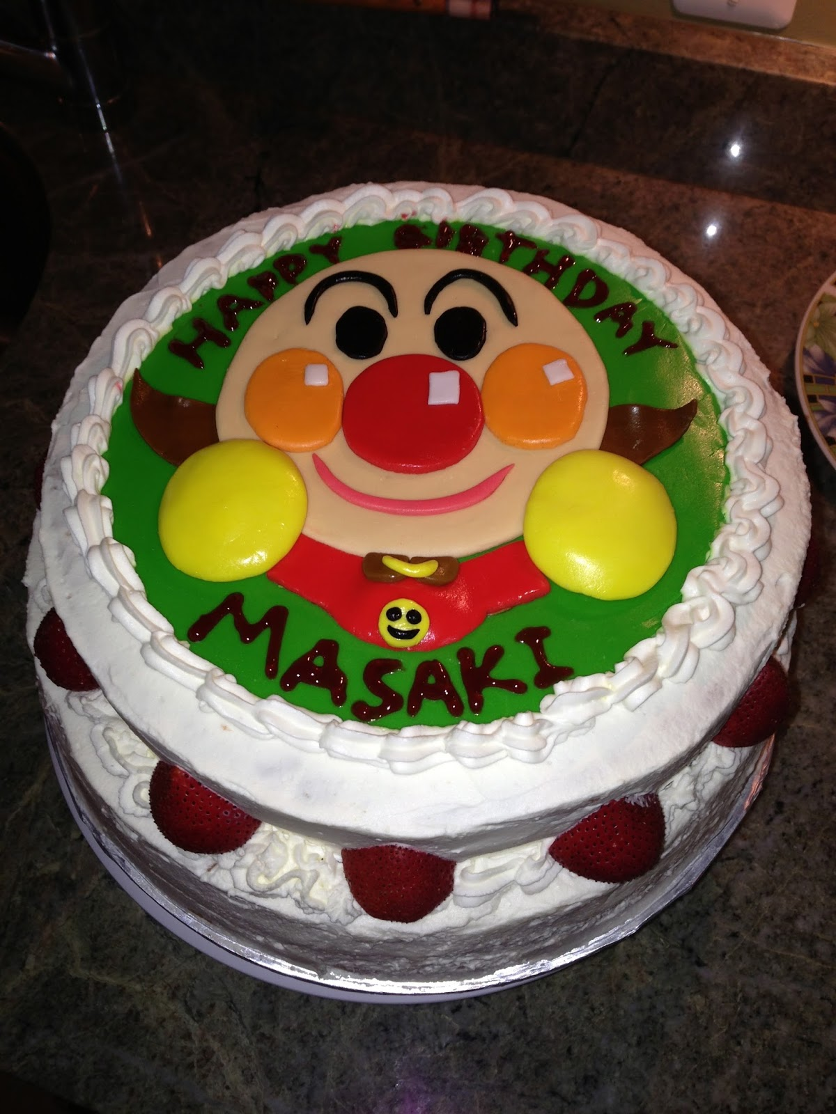 Joyce Gourmet Anpanman Birthday Cake
