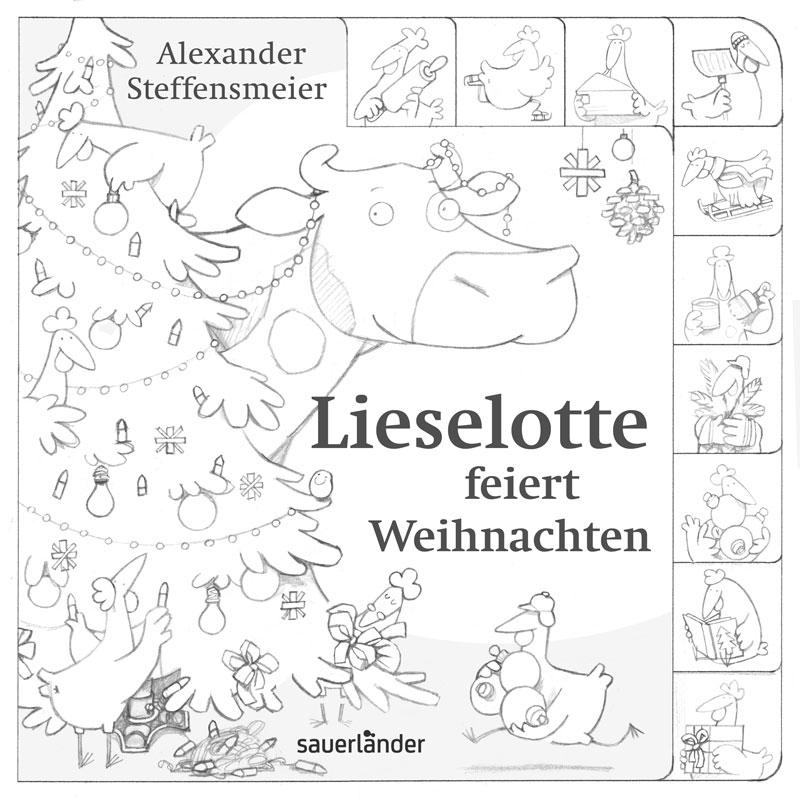 Illustration Alexander Steffensmeier: Noch vier Tage bis Weihnachten
