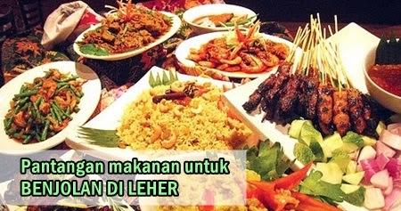 Pantangan Makanan Untuk Penyakit Benjolan Di Leher ...