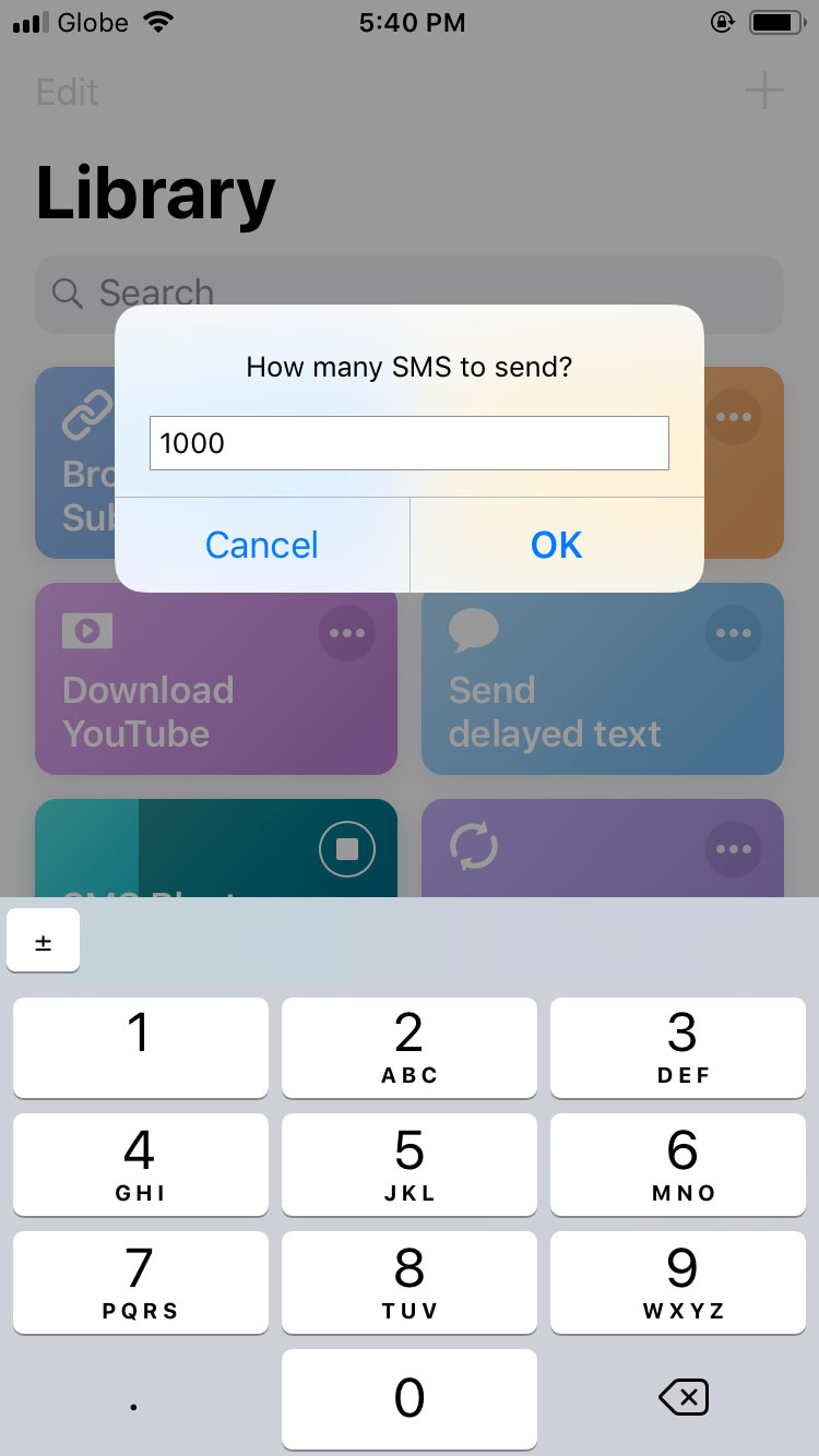How To Text Blast in iOS - This Shortcut Lets You SMS Bomb