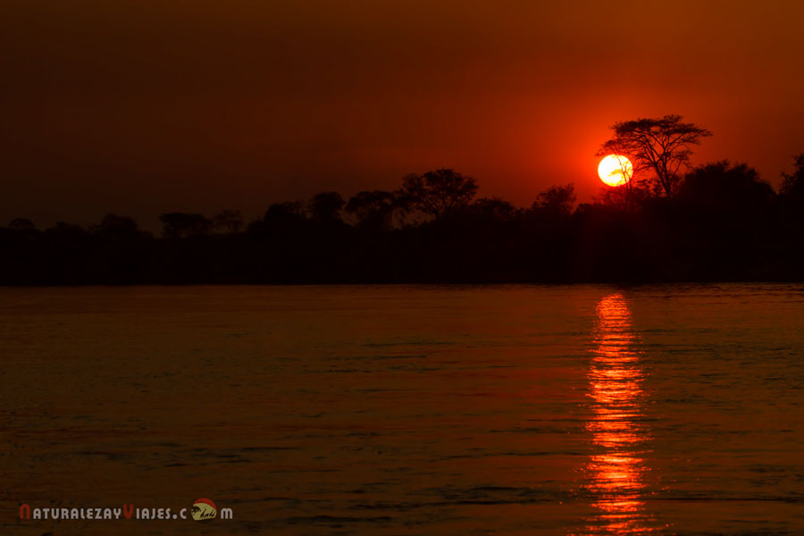 Sunset South Luangwa, Zambia