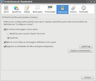 Limitando mensagens do IMAP no ThunderBird
