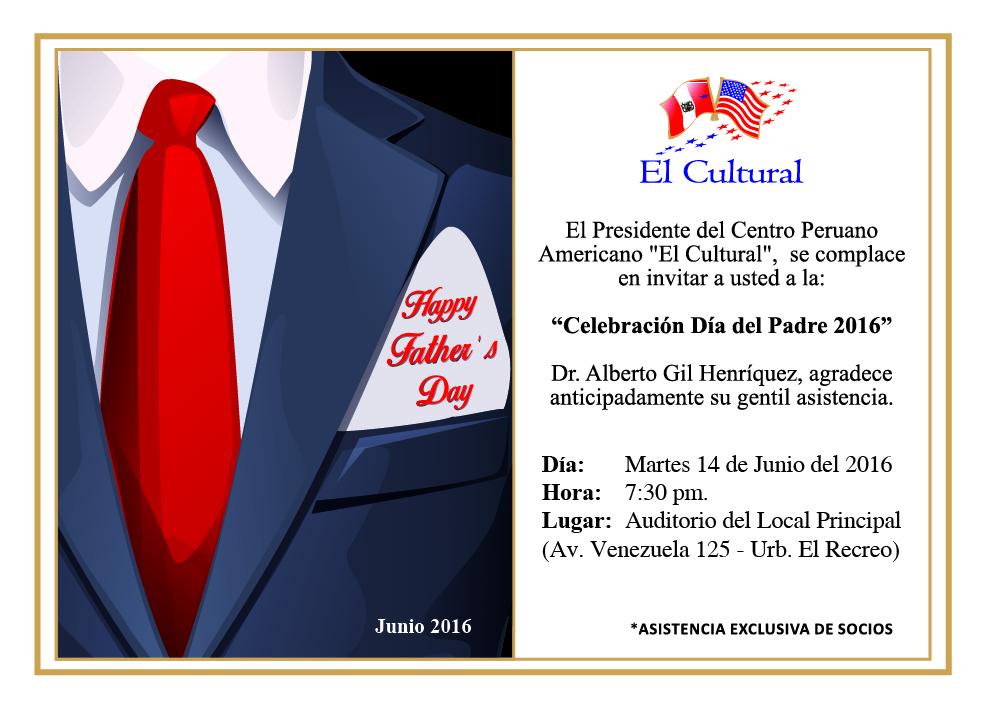 Socios El Cultural Invitación Celebración De Socios Por El