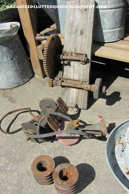 Junk Gears and Pulleys