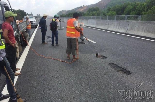 Sửa đường cao tốc
