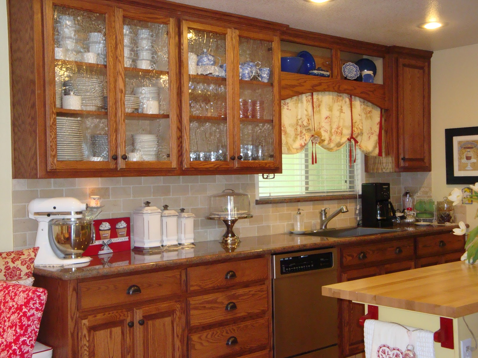 Glass For Kitchen Cabinets Small Commercial Cost Home Is Where The Heart Seeded In