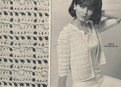 Motivos-Dibujos de crochet entre tejido