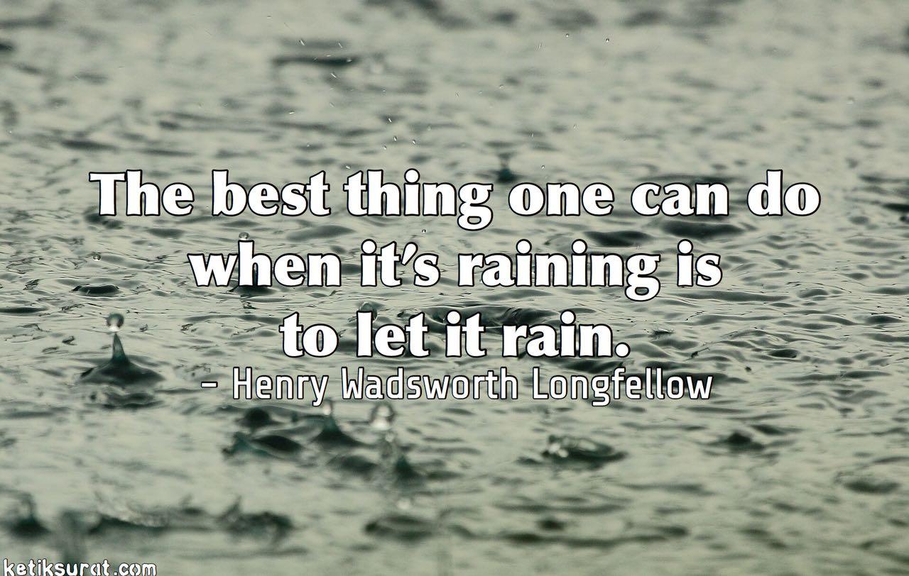 Kata Bijak Hujan Bahasa Inggris Cikimmcom