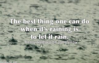 quotes bahasa inggris about rain dan artinya