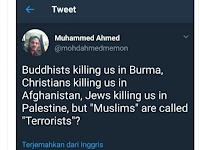 Ironis! Umat ISLAM yang Jadi KORBAN Dimana-mana, Namun Tetap Dilabeli TERORIS