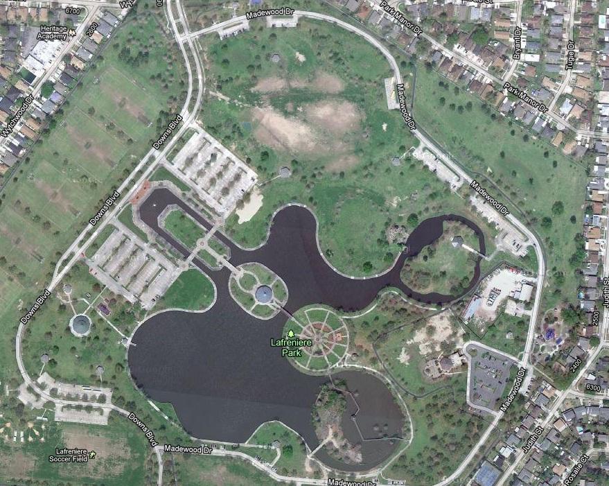 Lafreniere Park Map N.O. Rio Grande Underground: Maps of Lafreniere Park (click to  Lafreniere Park Map