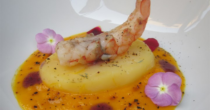 Gambero in Montagna dello Chef Paolo Carabetta
