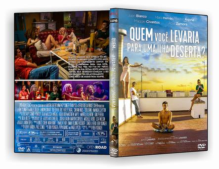 CAPA DVD – Quem Você Levaria para Uma Ilha Deserta – DVD-R