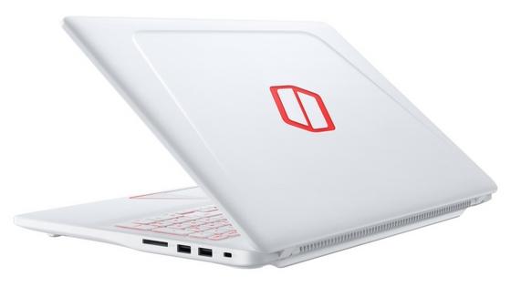 Samsung Notebook Odyssey 15 open