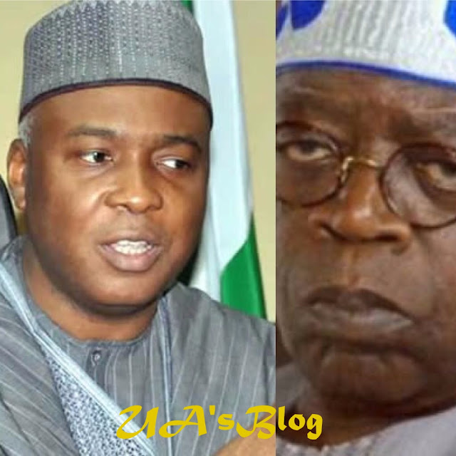 Tinubu Identifying With Buhari's Incompetence For His Ambition – Saraki