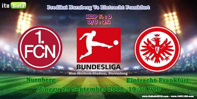Prediksi Nurnberg Vs Eintracht Frankfurt - ituBola