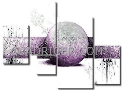 http://www.cuadricer.com/cuadros-pintados-a-mano-por-colores/cuadros-morados-violetas/cuadro-abstracto-circulo-central-morado-2161.html