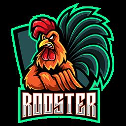 logo ayam petarung keren