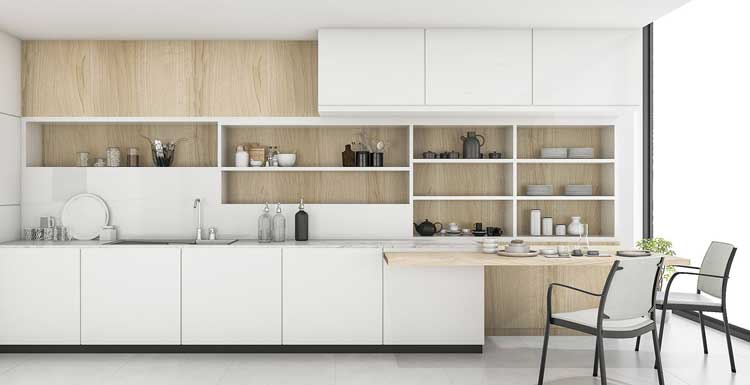 Desain Interior Rumah Minimalis Type 40  simple kitchen set design rumah joglo limasan work