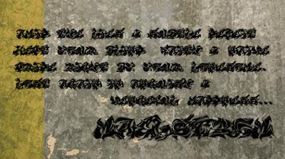Maelstrom Free Font Graffiti