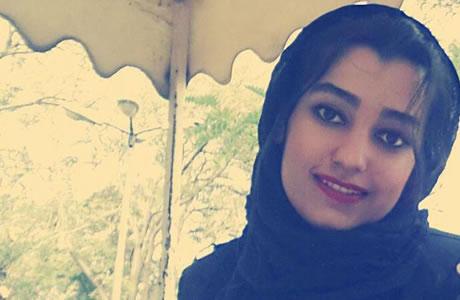 ندا احمدی، دانشجوی اقتصاد دانشگاه تبریز روز شنبه نهم دیماه در شهر ارومیه دستگیر شد