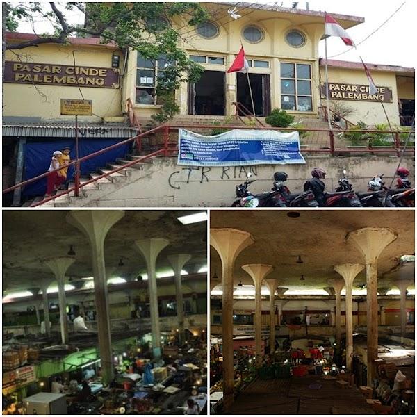 Pasar Cinde, Pasar Modern Tertua di Kota Palembang