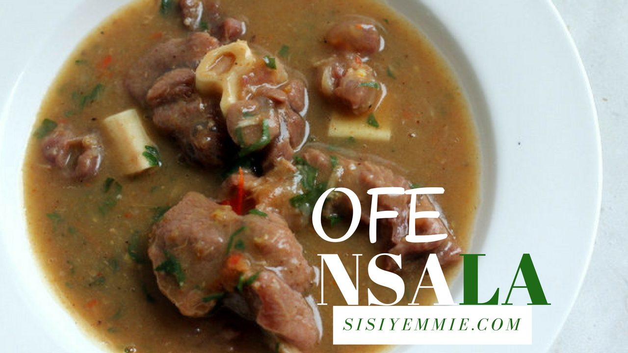 How to Prepare Nsala Soup